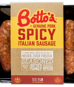 Botto's Spicy Italian Sausage 1lb Package